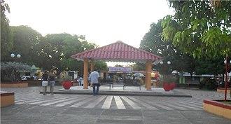 Pueblo Nuevo, Córdoba - Image: Parq principal