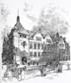 Passmore Edwards Public Library, Shoreditch - drawing - Henry T. Hare architect.png