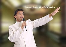 Pastor. Shino Kurian, Founder of International God Ministries