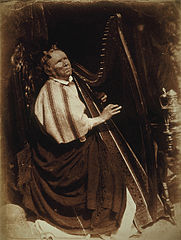 Patrick Byrne, about 1794 - 1863. Irish Harpist.jpg