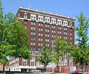 Patrick Henry Hotel - Image: Patrick Henry Hotel in Roanoke, Virginia