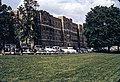 Patton Hall and cars at Virginia Tech, ca 1952.jpg