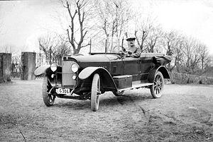 Puch - Puch XII Alpenwagen in Sweden, 1924/25
