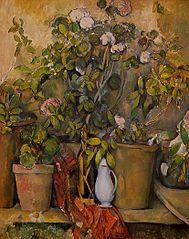 Terracotta Pots and Flowers (Pots en terre cuite et fleurs)