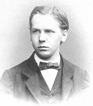 Paul Langerhans - Langerhans as a student