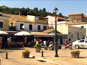 Paxi - Square of Gaios
