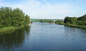 Peene - Peene river near Jarmen