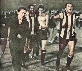 Copa Libertadores - Peñarol winning the 1966 Copa Libertadores