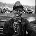 Pennsylvania coal miner, a black face, 1942.jpg