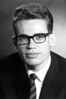 Per Brinch Hansen as a student in 1959