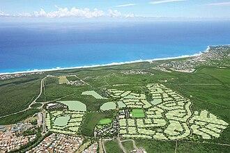 Peregian Springs, Queensland - Aerial view of Peregian Springs