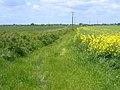 Permissive footpath, Landbeach, Cambs - geograph.org.uk - 176604.jpg