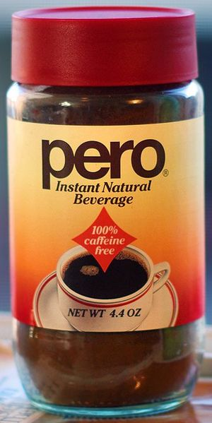 Caro (drink) - Caro is sold under the name Pero in the U.S. by InterNatural Foods.