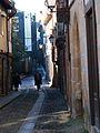 Pessoas no início da Rua Gravador Molarinho.jpg