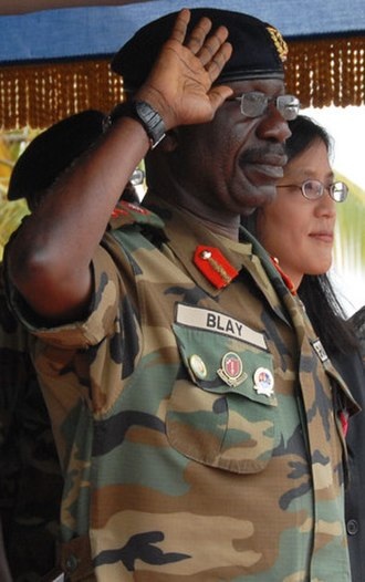 Chief of the Defence Staff (Ghana) - Image: Peter Blay (cropped)