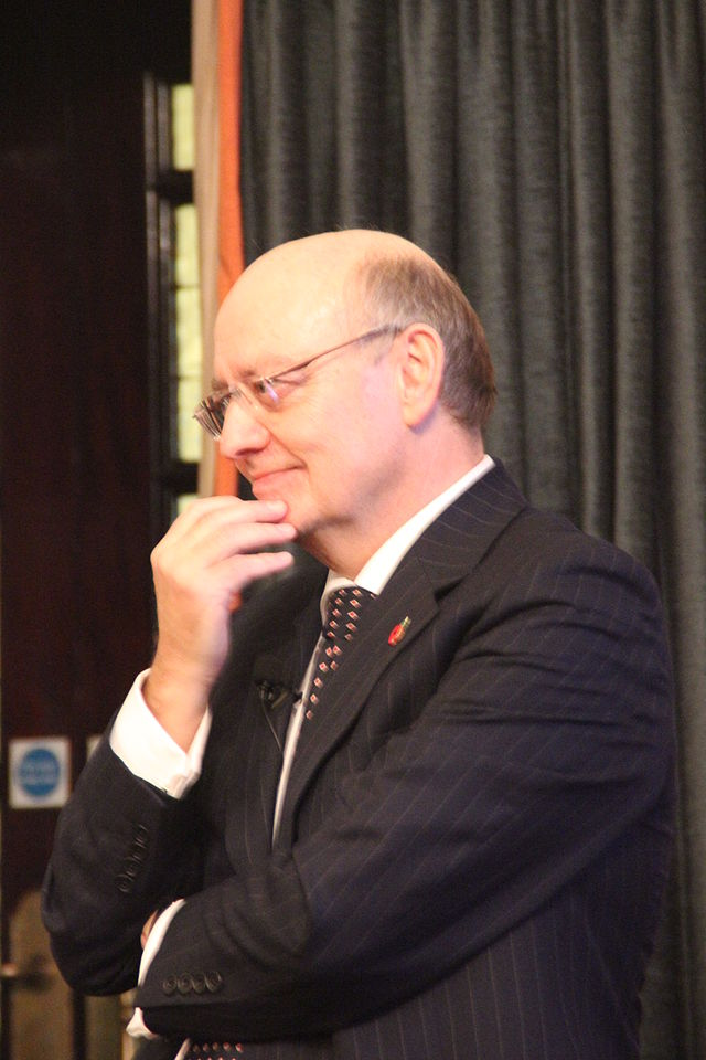 Peter Hansford (source: Wikipedia)
