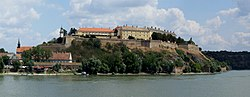 Petrovaradin fortress, the main landmark