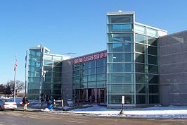 Het Pettit National Ice Center te Milwaukee