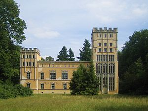 Pfaueninsel - Image: Pfaueninsel Kavaliershaus K