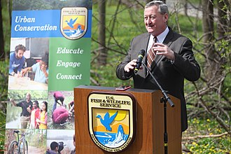 Jim Kenney, the current and 99th Mayor of Philadelphia Philadelphia Mayor Jim Kenney (25550370434).jpg