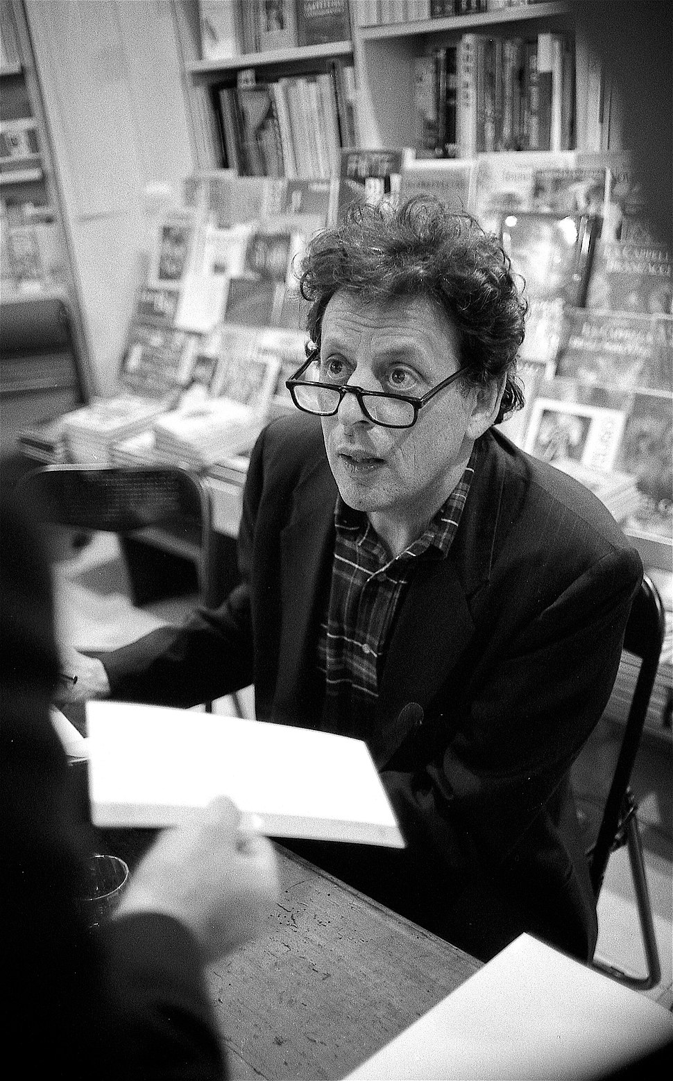 Philip Glass in Florence, Italy - 1993