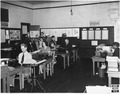 Photograph, California ^8, Oakland, May 23, 1940, Campbell School Writers at Work - NARA - 296094.tif