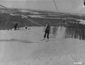 Photograph of Top of Hill by Ski Tow - NARA - 2129279.tif
