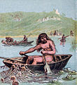 Pictures of English History Plate II - An Ancient Briton in His Boat.jpg
