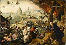 Pieter Huys: The Temptation of Saint Anthony