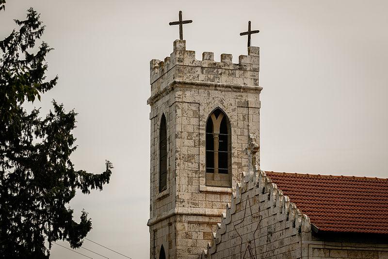 רמלה העתיקה - צריח כנסייה