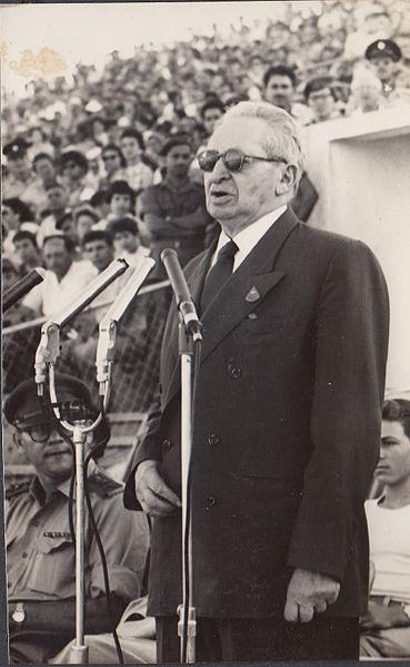 הנשיא יצחק בן צבי