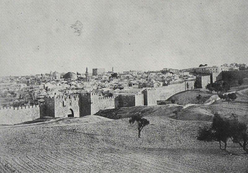 שער דמשק מבט חיצוני