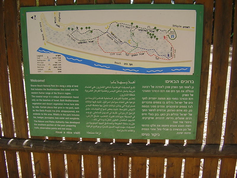 גן לאומי חוף השרון