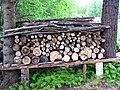 Pile of sauna woods.JPG