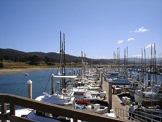 Princeton-by-the-Sea, California - Pillar Point Harbor in April 2007