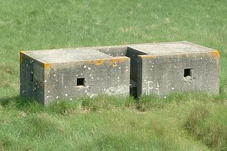 Saltfleetby - Pillbox, Lincolnshire three-bay type, Saltfleetby