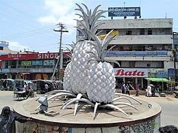 Pineapple monument, Madhupur, Tangail.jpg