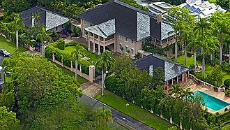 St Lucia, Queensland - The Pink Palace, St Lucia