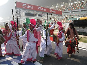 Buddh International Circuit - Image: Pitlane Walks 2011 Indian Grand Prix