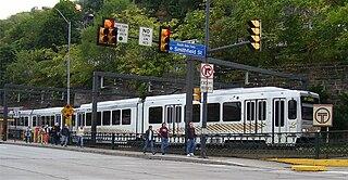 Pittsburgh Light Rail light rail system in Allegheny County, Pennyslvania