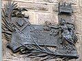 """Placa en la fachada de la Casa Calvet """"Premio del Extmo Ayuntamiento a la casa Calvet en 1900"""" . Barcelona.jpg"""