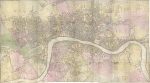Richard Horwood - Horwood's map of London, 1795