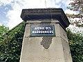 Plaque Avenue Marronniers - Le Pré-Saint-Gervais (FR93) - 2021-04-28 - 2.jpg