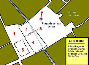 Plaza De Armas Del Cuzco Wikipedia La Enciclopedia Libre