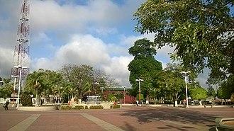 San José de Guanipa - Image: Plaza Bolívar de San José de Guanipa