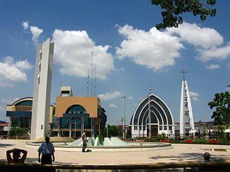 Pucallpa - Image: Plaza de Armas Pucallpa