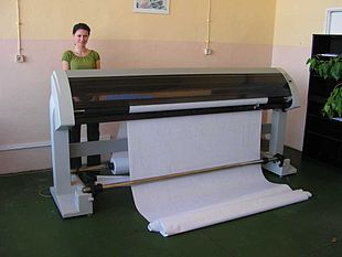Plotter a getto d'inchiostro