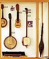Plucked string instruments (4) Timple, Charango, Banjo, Shamisen - Soinuenea.jpg
