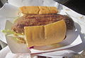 Po Boy Fest 2012 2 Guys Red Bean Sausage.JPG