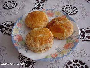 Čvarci - Pogačice sa čvarcima - a pastry made with čvarci